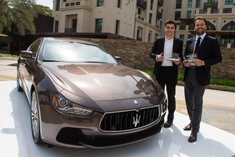 Maserati hauls a total of 12 awards across Global Overseas Markets region.