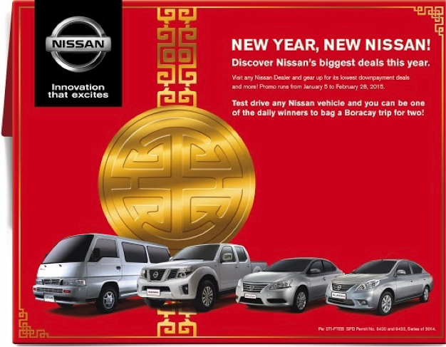 Nissan Red tag sale