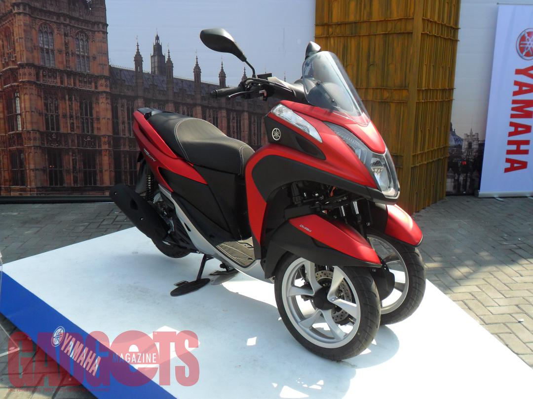 Multi wheeled yamaha tricity motorcycle now available for Yamaha motorcycles thailand prices