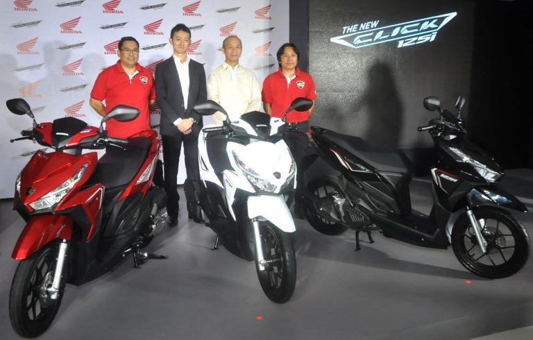 Honda launches premium Honda Click 125i scooter