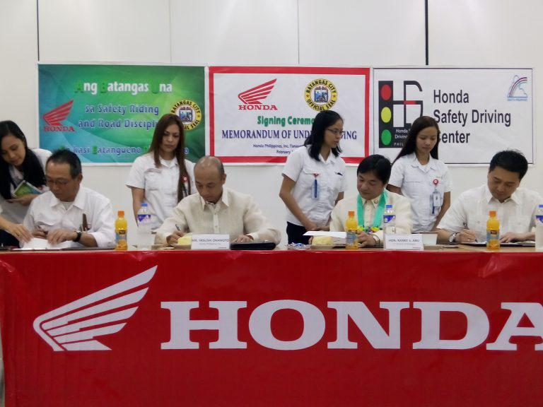 Honda to hold Safety Riding Summit in Batangas