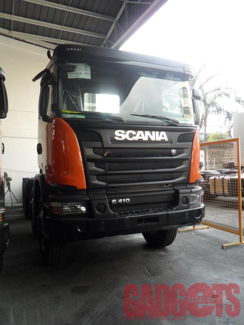 Truck Orange