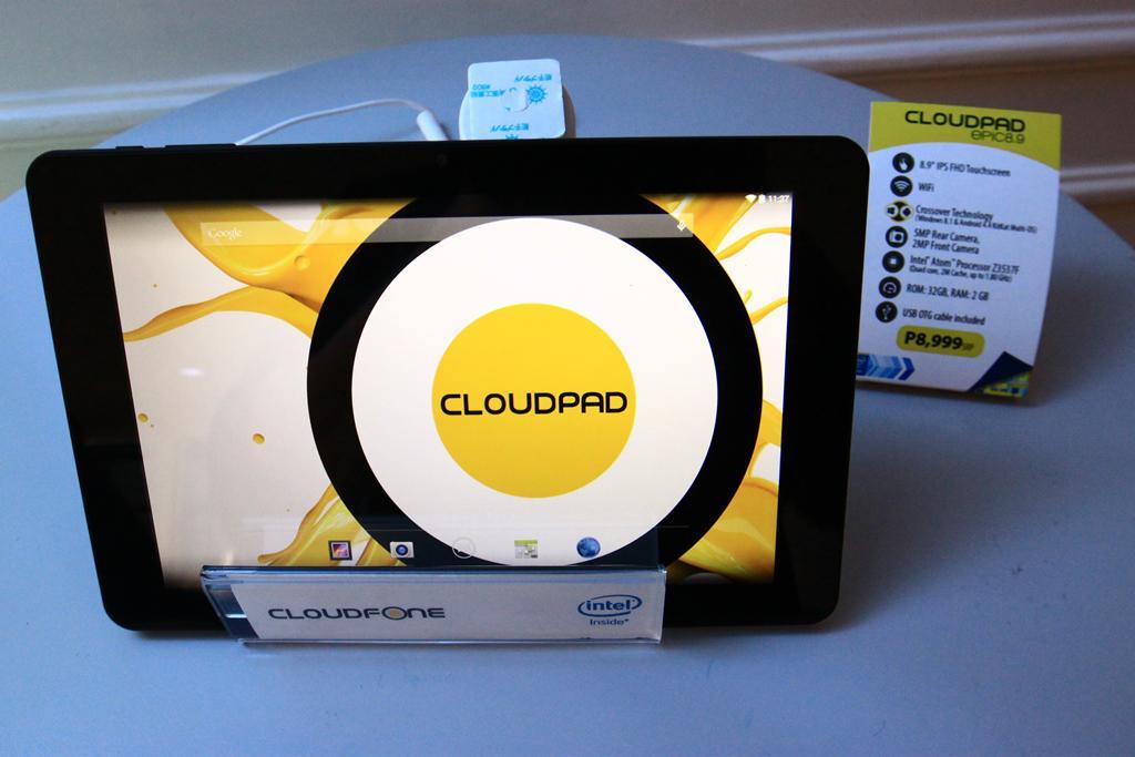 CloudPad Epic 8.9