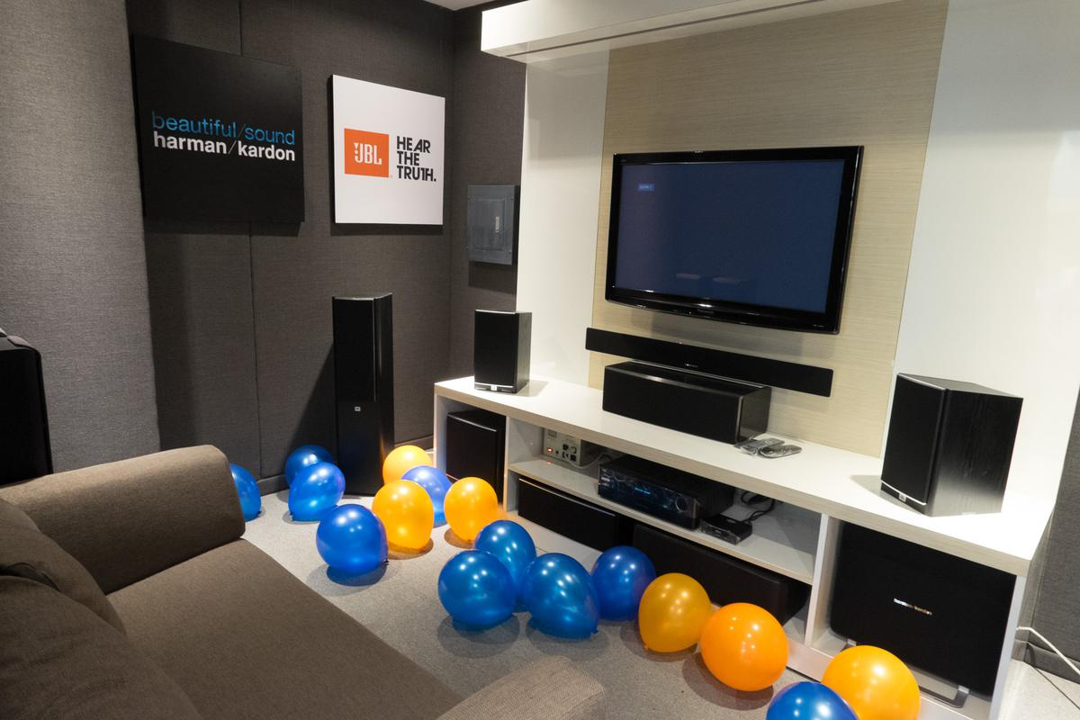 Harman-JBL Store Opening at Ayala Fairview Terraces