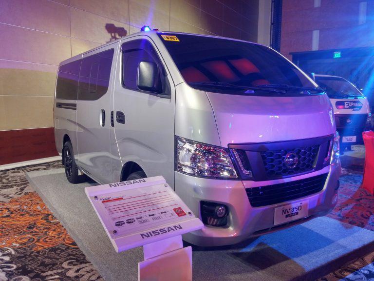 Nissan unveils the new NV350 Urvan