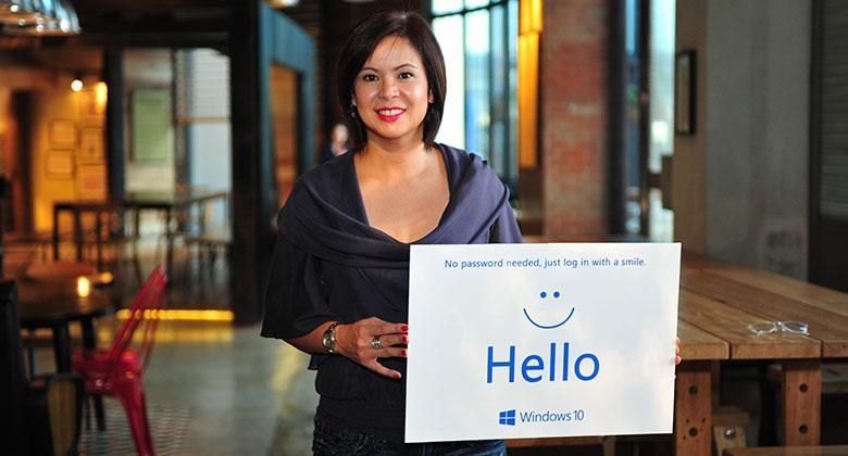 Microsoft Philippines Managing Director Karrie Capellan-Ilagan