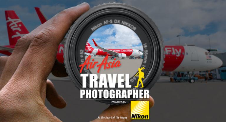 Nikon and AirAsia hold #IamAirAsiaTravelPhotographer contest