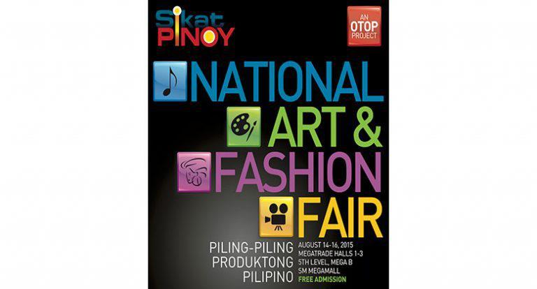 Free performances, art workshops at SikatPinoy art & fashion fair