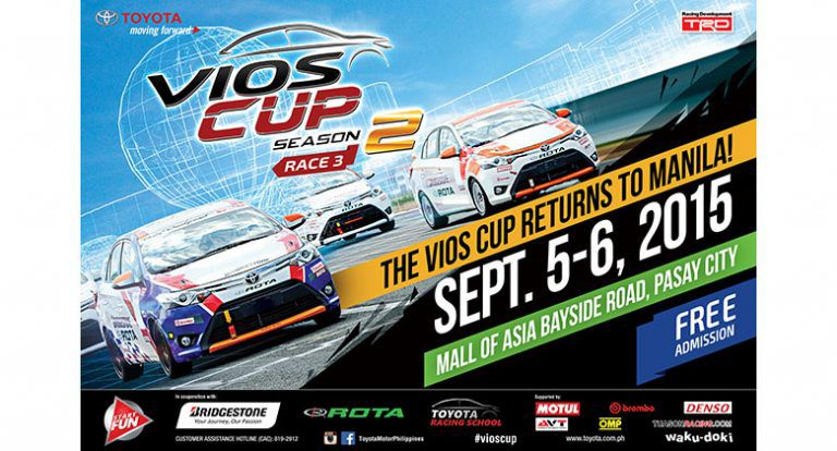 Toyota Vios Cup Gears Up for Manila Leg