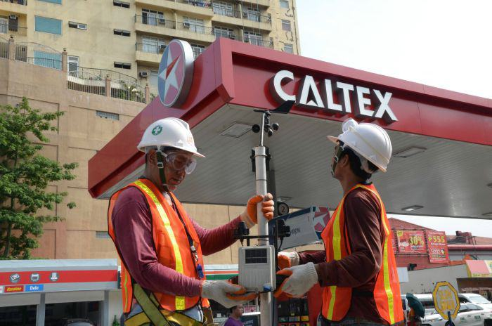 """Chevron ensures the public that their """"Metro Weather Project"""" automated weather stations are properly maintained"""