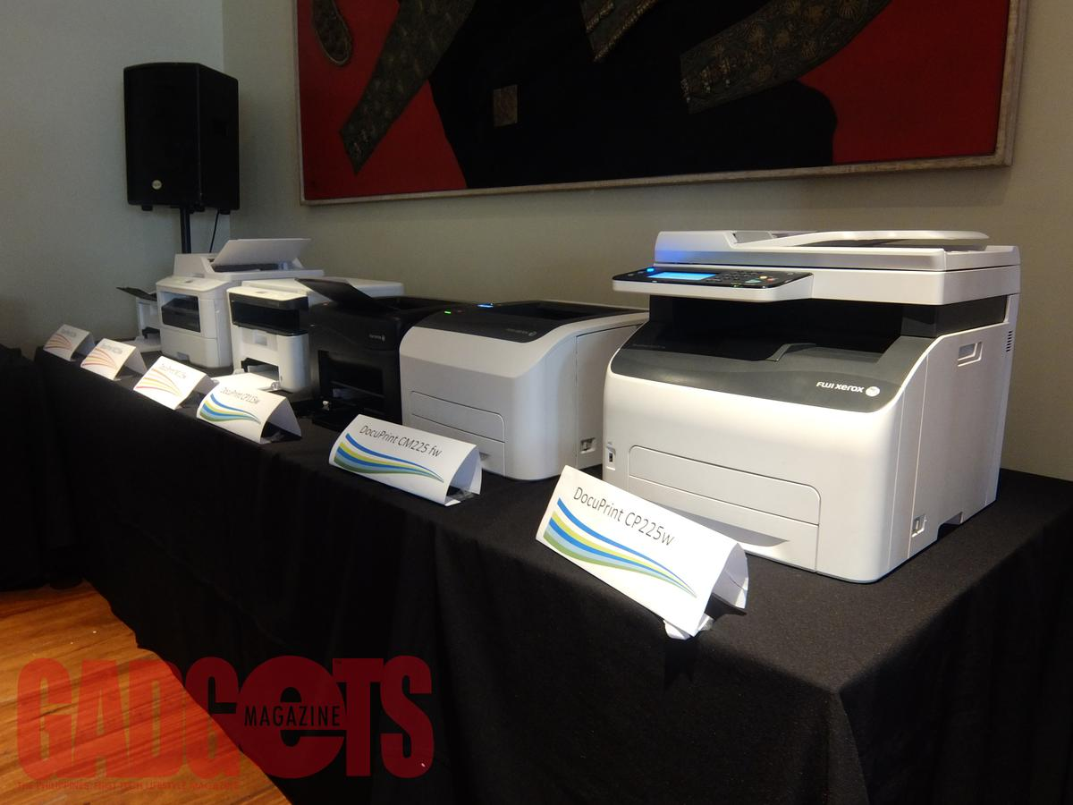 Fuji Xerox Launches 12 New Docuprint Models Gadgets Magazine Cp115w 1 The Cp115 W Cp225 Cm115 And Cm225 Fw Are Color Printers Able To Print Wirelessly Using Apple Airprint Google Cloud