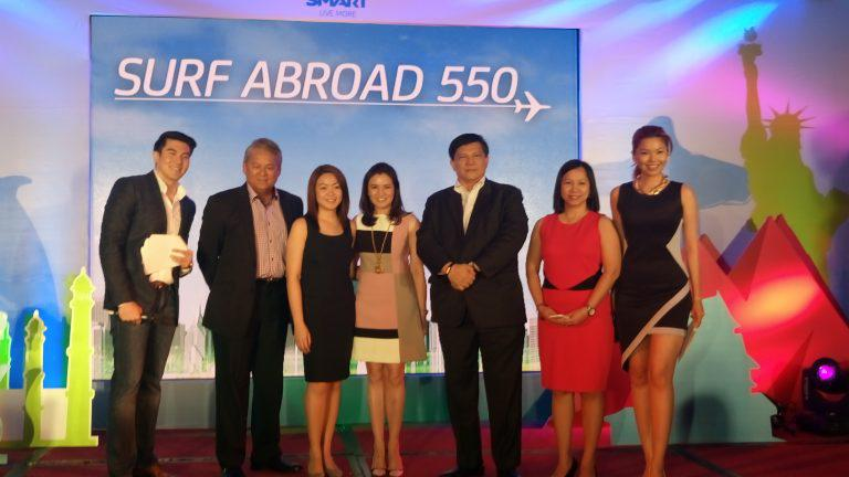 Smart launches Surf Abroad 550