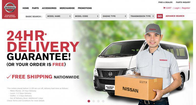 Car parts shopping made more convenient with NissanParts.PH