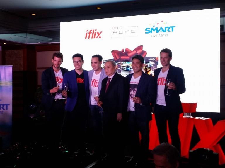 PLDT and Smart users to get free iflix subscriptions