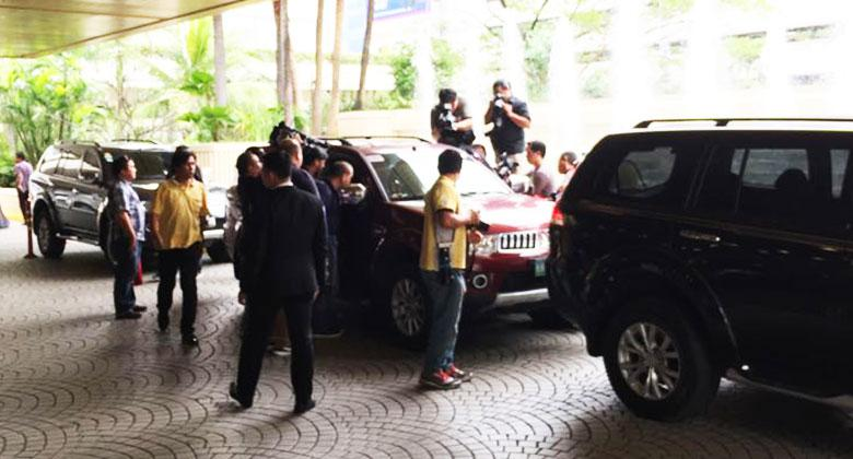 Arlan S. Reyes, Manager for Advertising & Promotions of MMPC showed the members of the press how SUA is not possible with the Montero Sport. As part of their press conference, MMPC had three units available for demonstration, including one that the owner claimed to have experienced SUA.