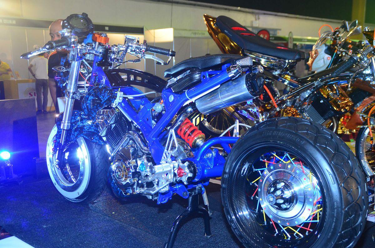 Suzuki Raider Design