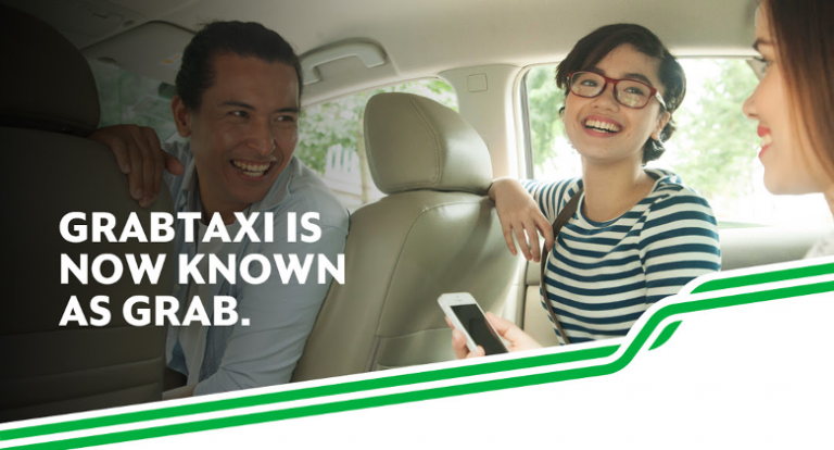 GrabTaxi? It's just Grab now