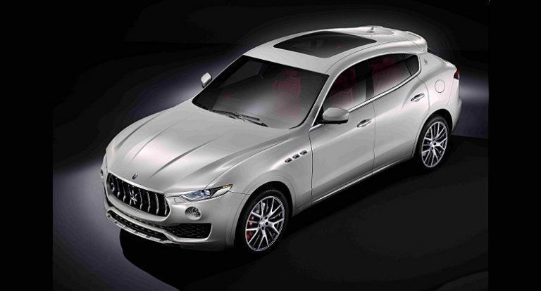 Maserati unveils first SUV, Levante