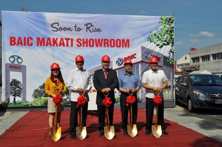 BAIC Philippines Breaks Ground for Flagship Showroom