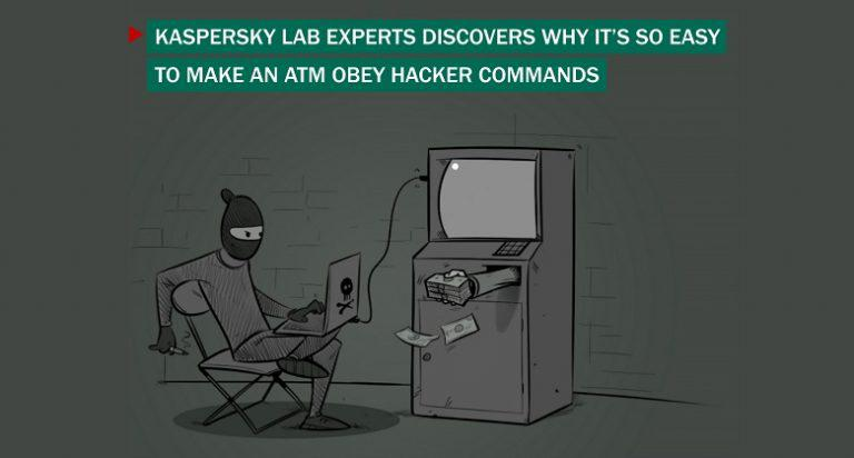 Kaspersky Lab experts reveal why ATM obey hacker commands
