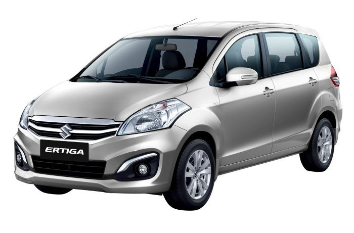 The New Suzuki Ertiga Front