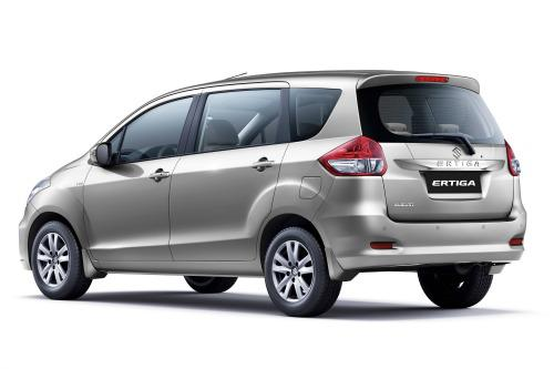 The New Suzuki Ertiga Rear
