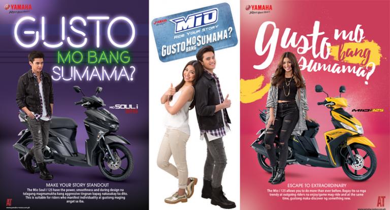 Yamaha taps JaDine as new endorsers