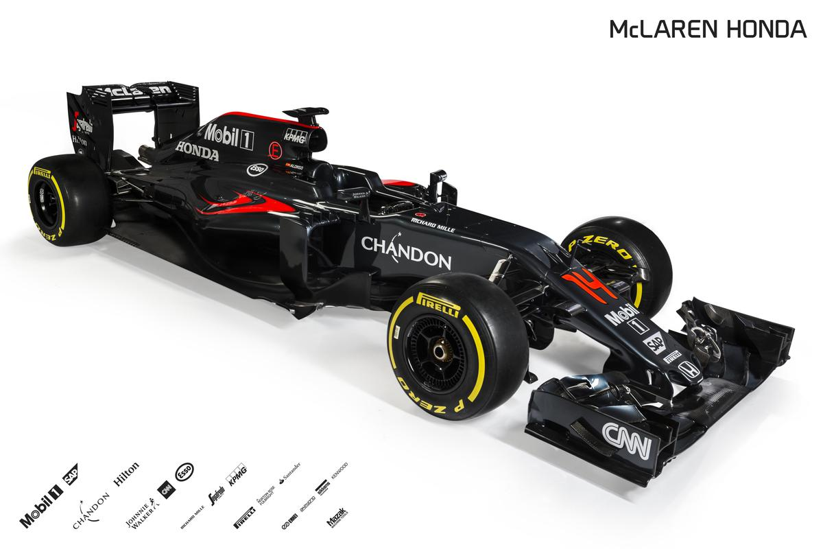 5) 2016 McLaren Honda MP4-31 Front Three Quarter