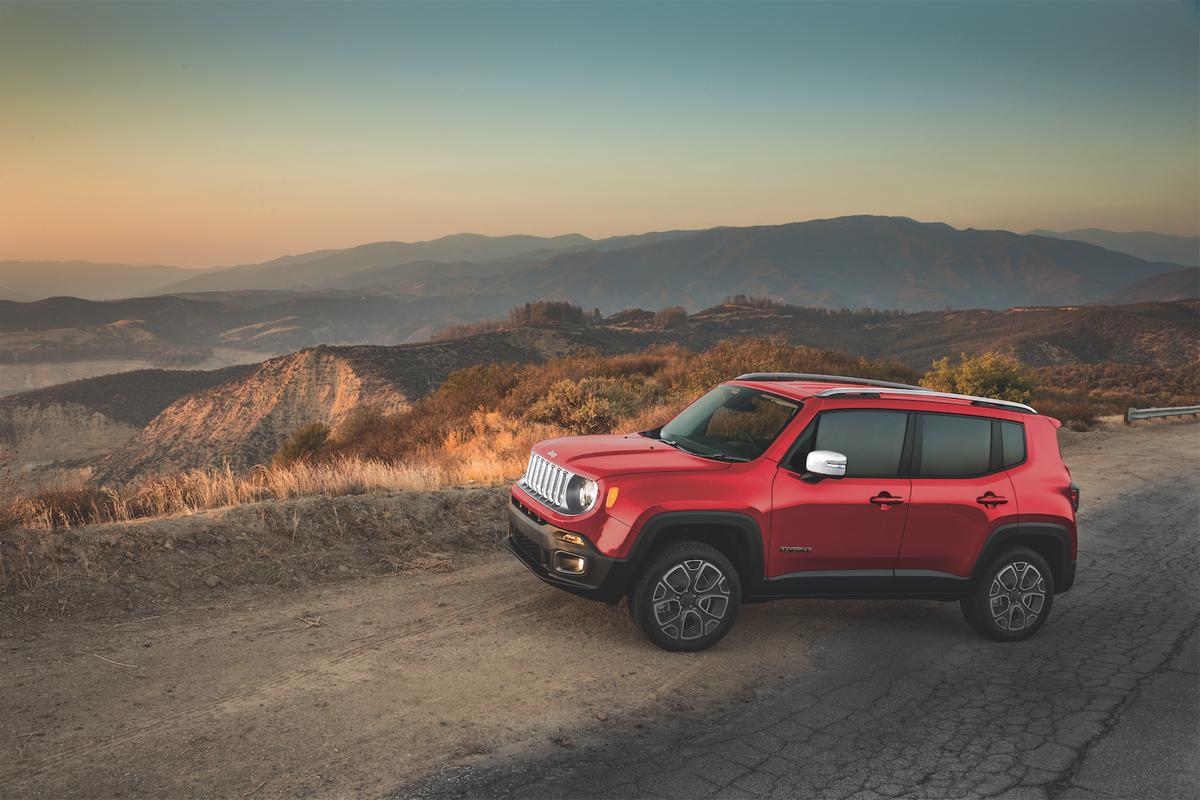 7) Jeep Renegade