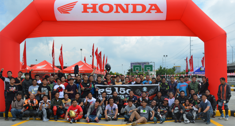 Honda Philippines thanks RS 150 riders with special appreciation day