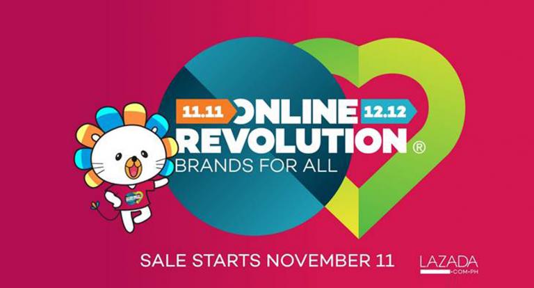 Lazada to kick off Online Revolution sale on November 11