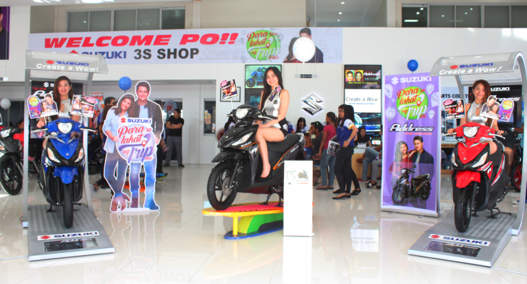 Suzuki opens latest 3S shop in Cabanatuan