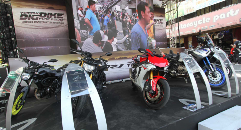 Yamaha joins first Caloocan Motorcycle Festival