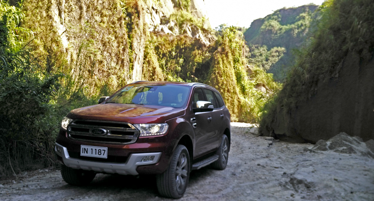 The Ford SUV Experience in Central Luzon