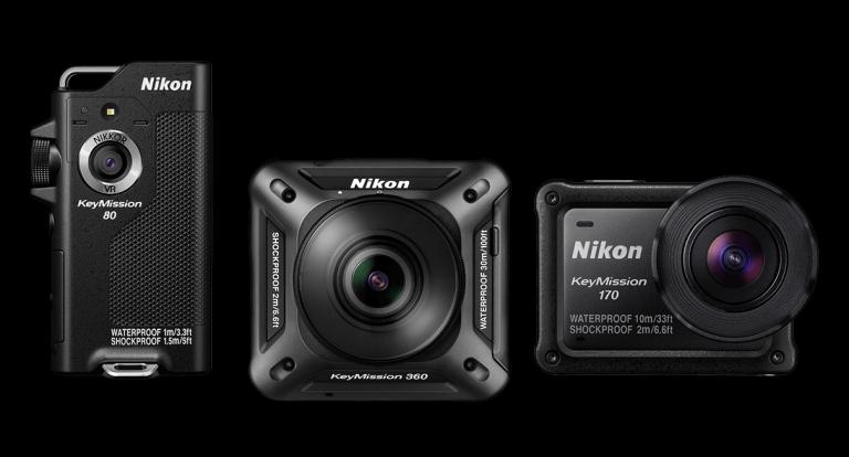 Nikon showcases KeyMission line of action cameras