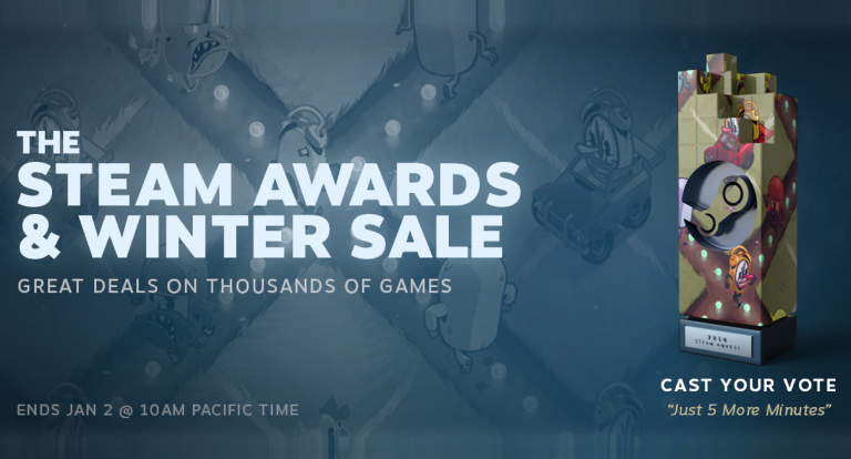 Steam sale ongoing until January 2