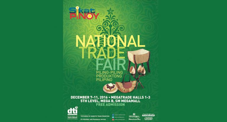 Sikat Pinoy National Trade Fair 2016