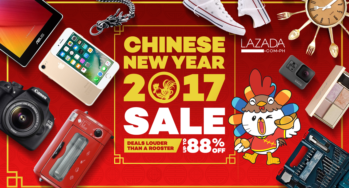 Lazada Philippines Welcomes The Year Of The Rooster With