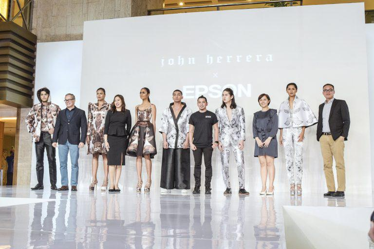Fashion designer John Herrera partners with Epson for digitally printed Aguila-inspired collection