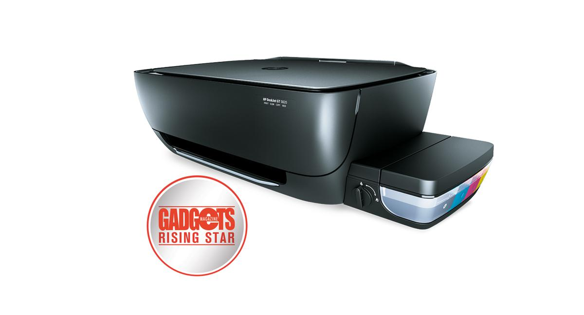 Reviewed Hp Deskjet Gt 5820 Gadgets Magazine Philippines Ink Free Mobile Photo Printer Technology