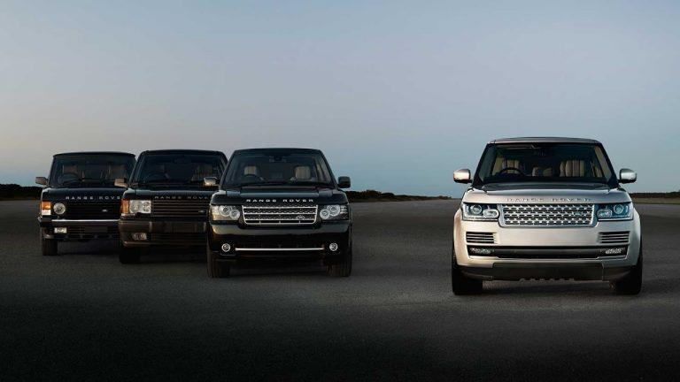 48 years of Range Rover: Peerless design and engineering innovation through every generation
