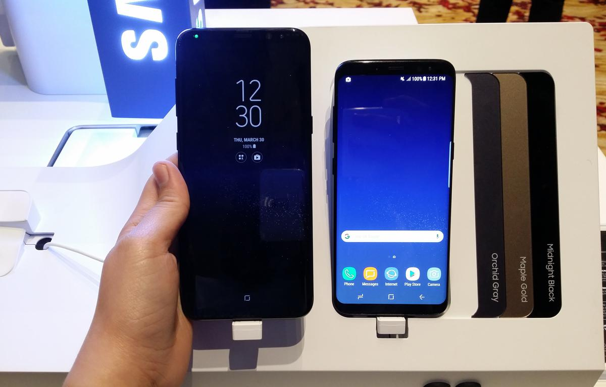 Samsung Galaxy S8 And Previewed In Manila Pricing Midnight Black The