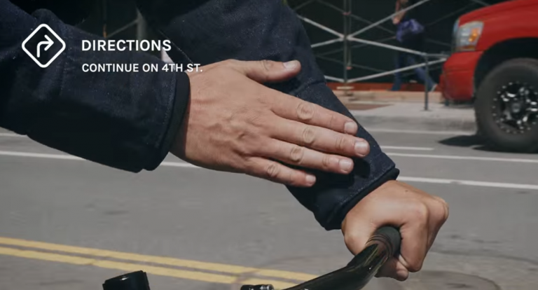 This jacket is literally wearable tech