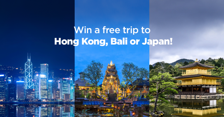 Use your PayMaya and get a chance to win a trip to Hong Kong, Bali, or Japan