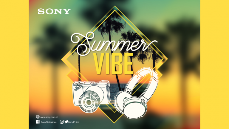 Get great deals with Sony's Summer Vibe campaign