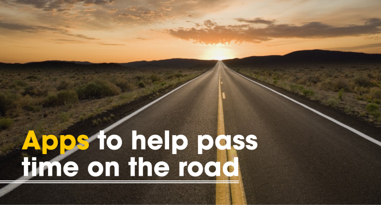 Apps to Help Pass Time on the Road
