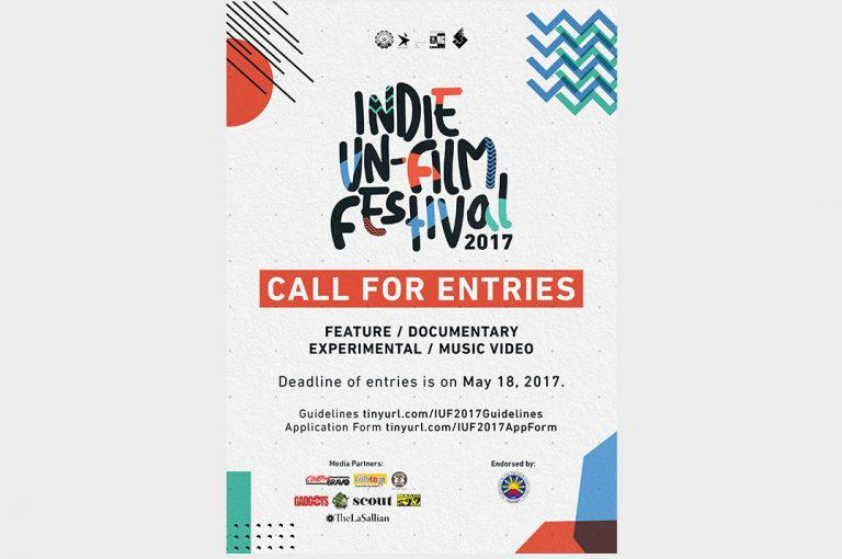 The Indie Un-film Festival (IUF) of DLSU Green Media Group is now calling for entries!