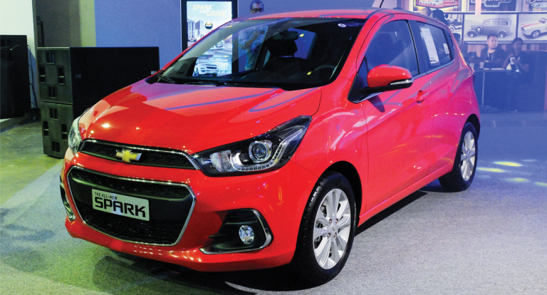 MIAS 2017: Chevrolet Presents the All-New Spark