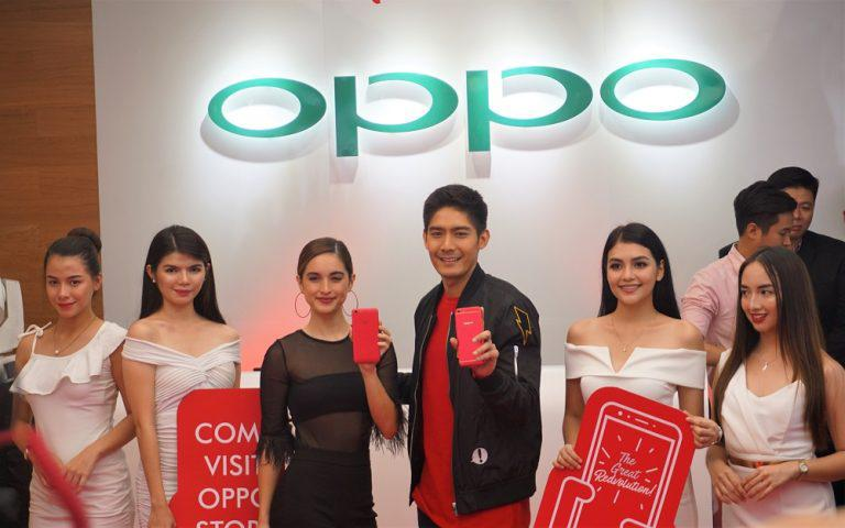 Oppo Rolls Out F3 Red Limited Edition; Opens Concept Store in SM Aura