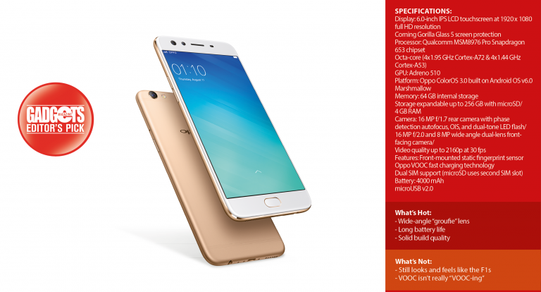 Reviewed: Oppo F3 Plus